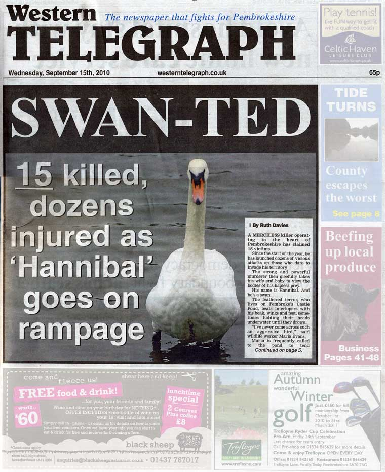 Western Telegraph Cover